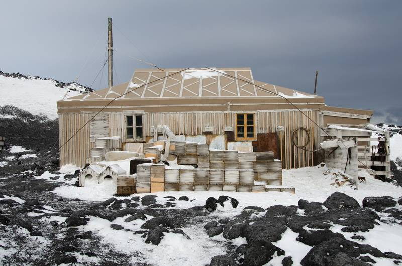Historic Hut Antarctica, Antarctica cruise from New Zealand