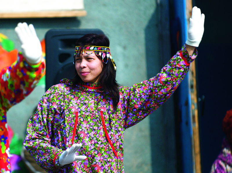 Indigenous people, Wrangel Island, Arctic Polar bear cruise