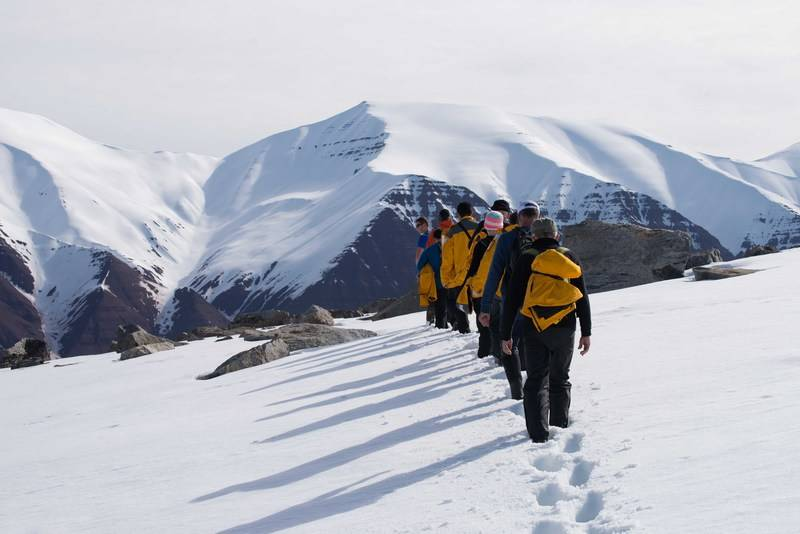 Hiking in Spitsbergen, Arctic Polar bear cruise