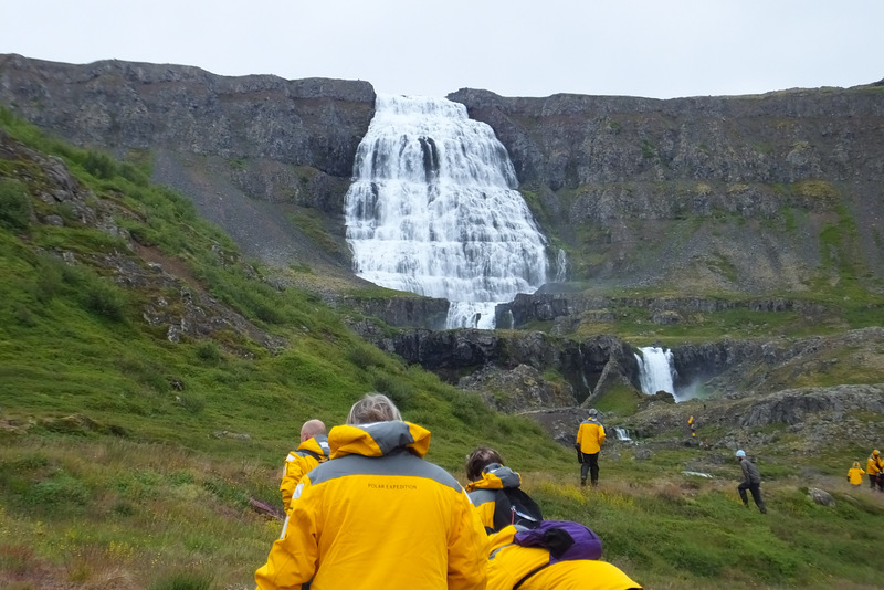 Hiking in the Arctic, Iceland