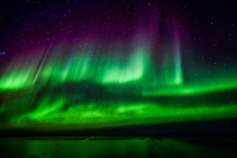 Northern lights, Arctic cruise