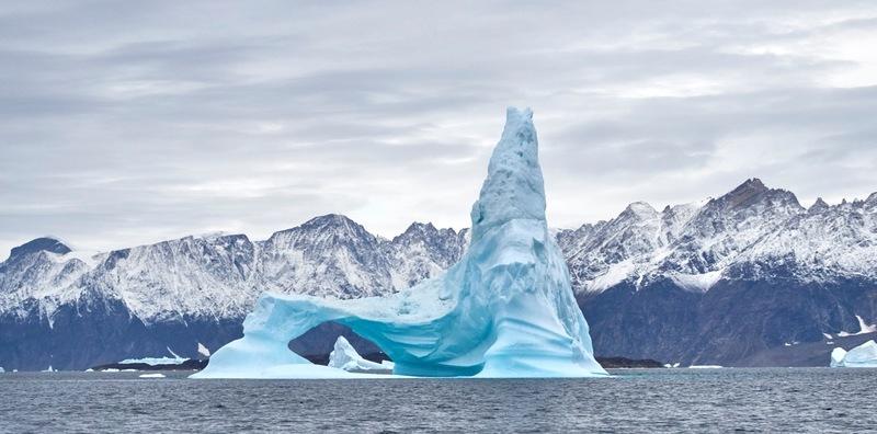 Greenland iceberg, Arctic cruise