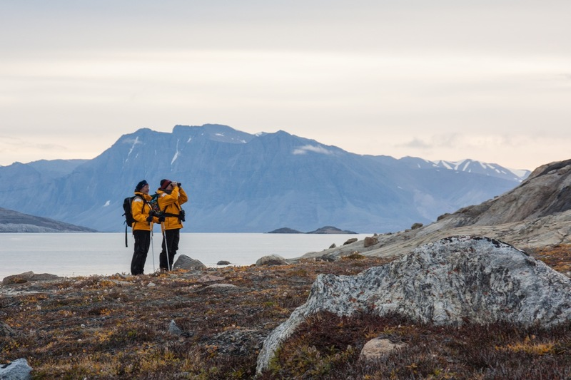 Hiking in the Arctic, Arctic cruise