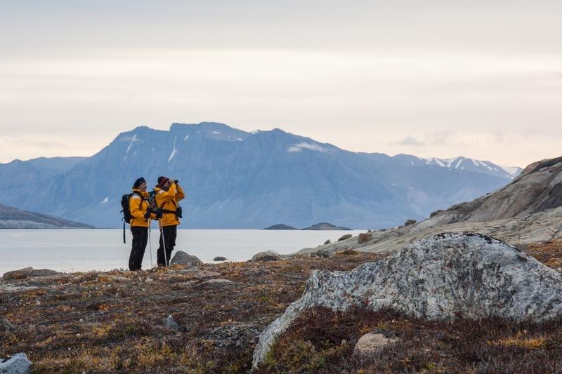 Hiking in the Arctic, Arctic cruise