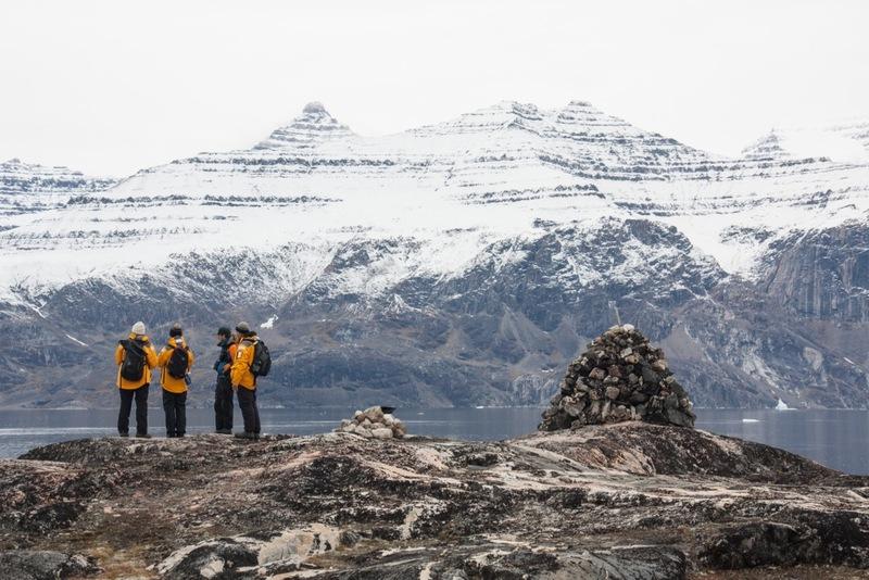 Arctic hiking, Arctic cruise