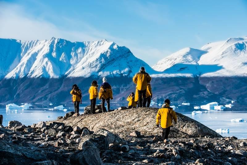 Arctic exploring, Arctic cruise
