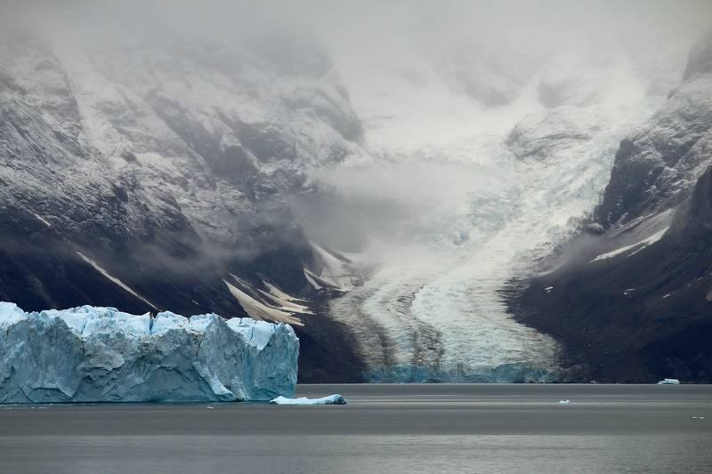 Glacier tongue, Arctic cruise