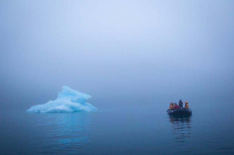 Misty Zodiac cruise, Arctic cruise