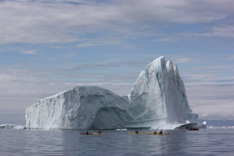 Huge iceberg Greenland, Arctic cruise