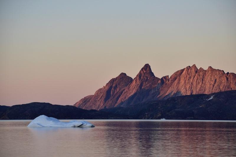 Arctic twilight, Arctic cruise