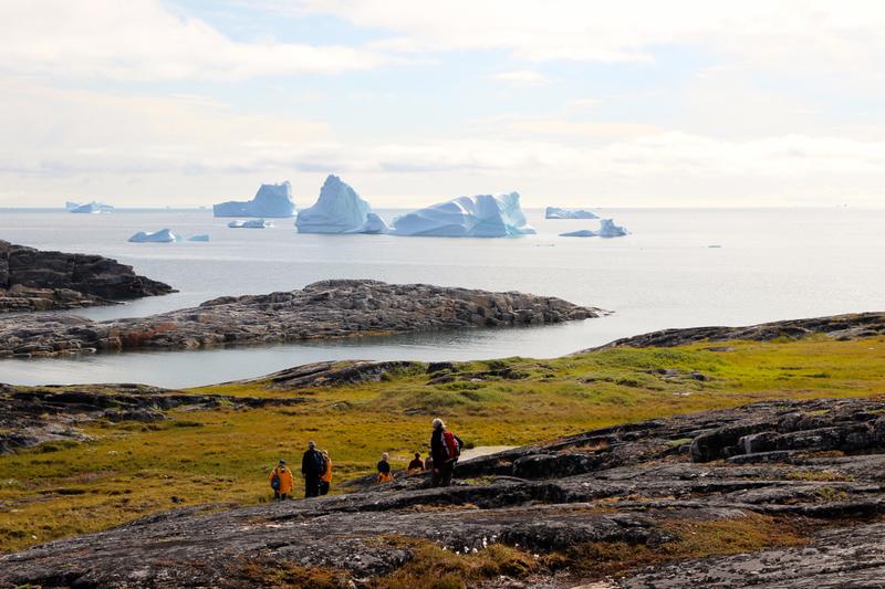 Greenland hike, Arctic cruise