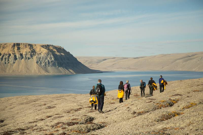 Hiking, , Northwest passage cruise