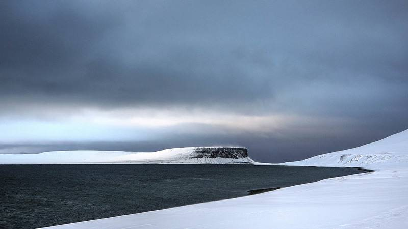 Arctic landscape, Northwest passage cruise
