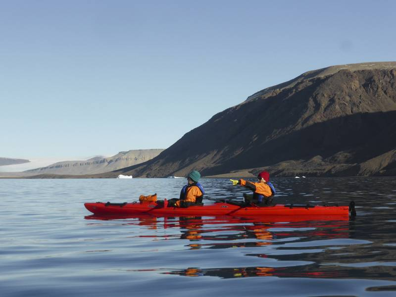 Arctic kayaking, Northwest passage cruise