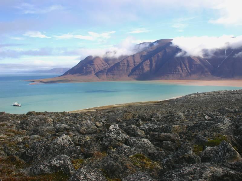 Greenland coast, Arctic cruise