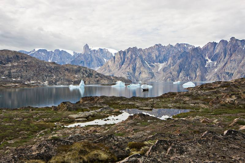 Greenland fjords, Arctic cruise
