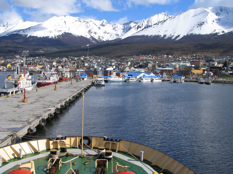 Ships bow in , Cruise to Antarctica
