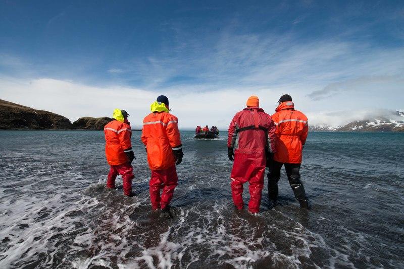 Expedition team, Cruise to Antarctica