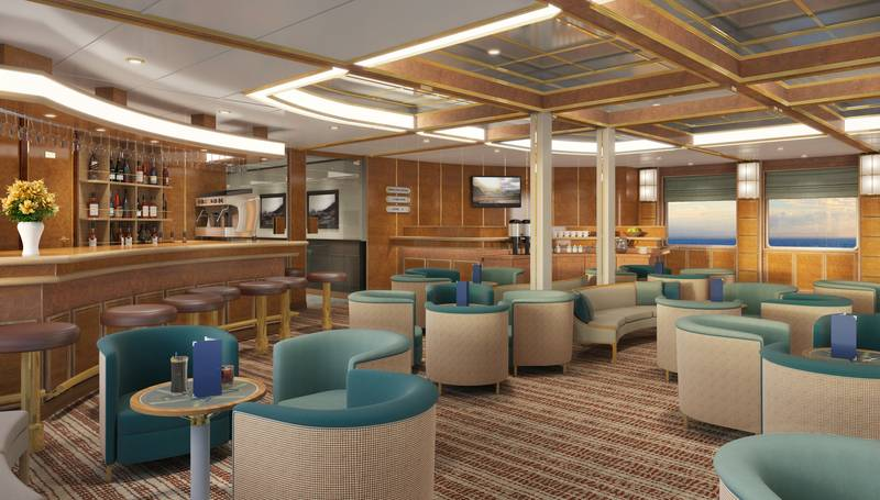 Hebridean Sky lounge, Cruise to Antarctica