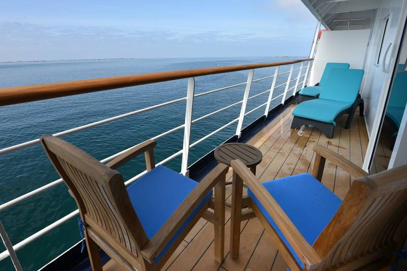 Balcony suite, Cruise to Antarctica