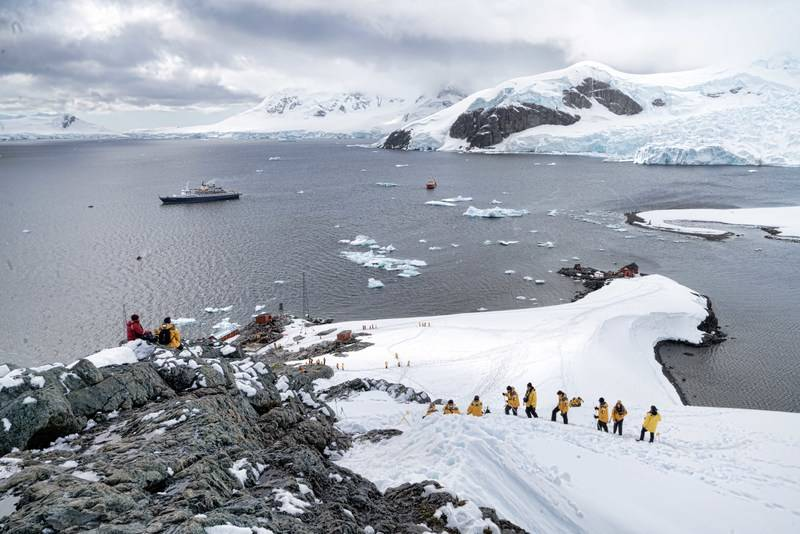 Antarctica excursion, Cruise to Antarctica