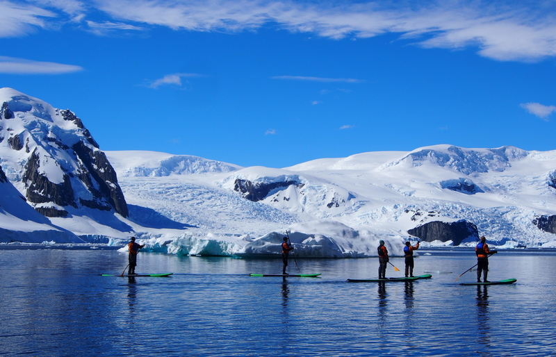 stand up paddle boarding in Antarctica, Antarctica Cruise