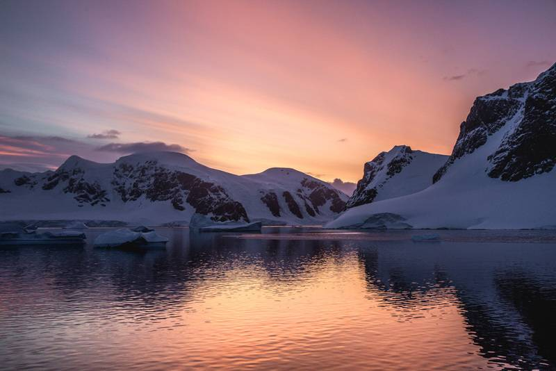 Antarctic twilight, Photography, Antarctica cruise