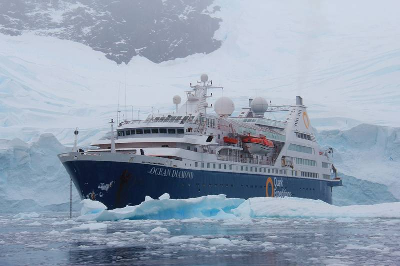 Ocean Diamond, Cruise to Antarctica