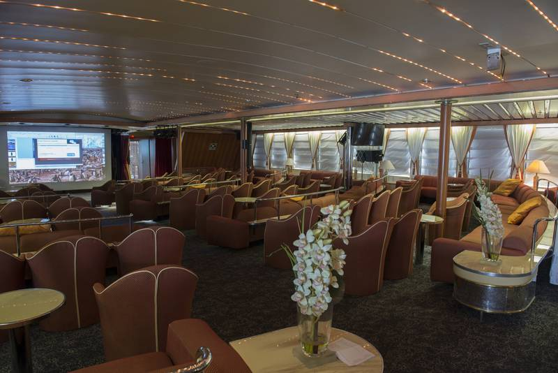 Ocean Diamond lounge, Cruise to Antarctica