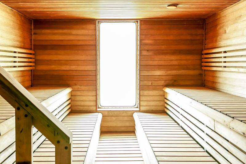 Ocean Endeavour sauna, Cruise to Antarctica