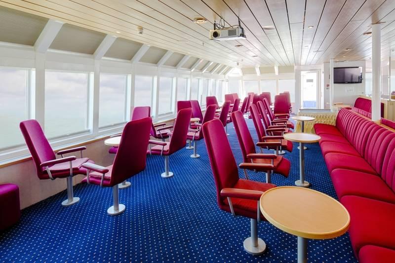 Ocean Nova observation lounge, Cruise to Antarctica