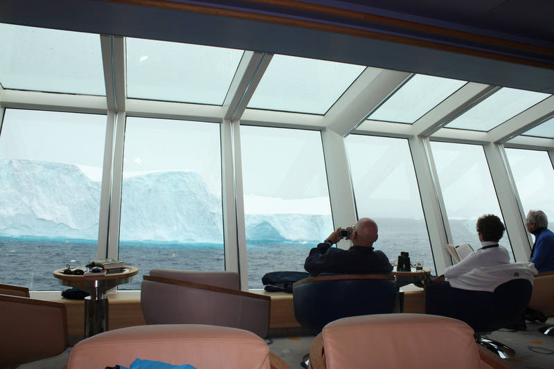 Fram observation lounge, Cruise to Antarctica