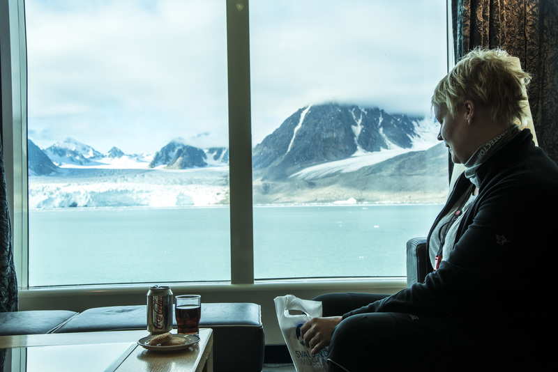 Fram cabin, Cruise to Antarctica