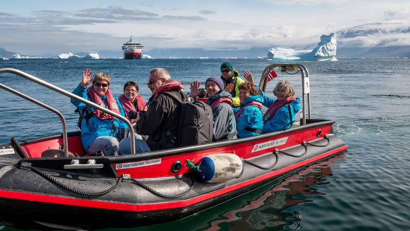 Fram Zodiac cruise, Cruise to Antarctica