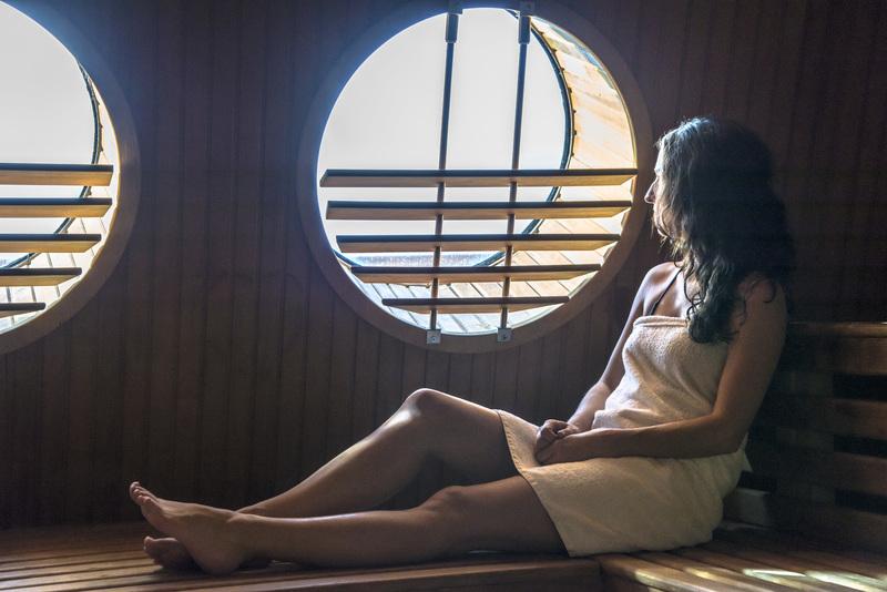 Fram sauna, Cruise to Antarctica