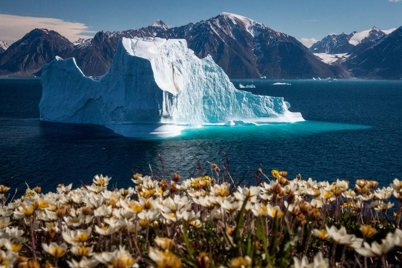 Iceberg in Greenland, Arctic cruise