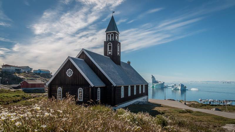 Greenland Church, Arctic cruise