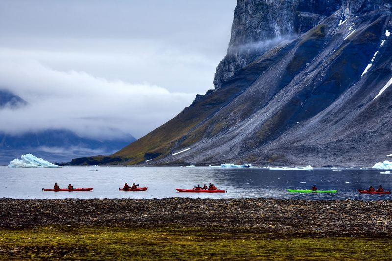 Kayaking in the Arctic, Arctic Cruise