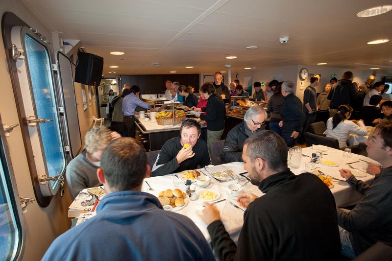 Plancius dinning room, Cruise to Antarctica