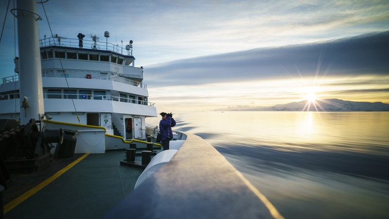 Plancius Antarctica, Cruise to Antarctica