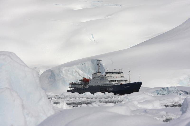 Plancius in Antarctica, Cruise to Antarctica