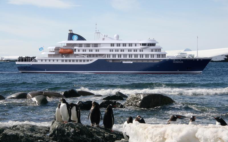 Hondius in Antarctica, Antarctica cruise
