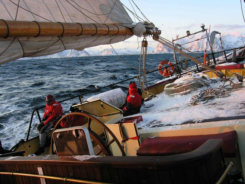 Noorderlicht at sea, Arctic cruise