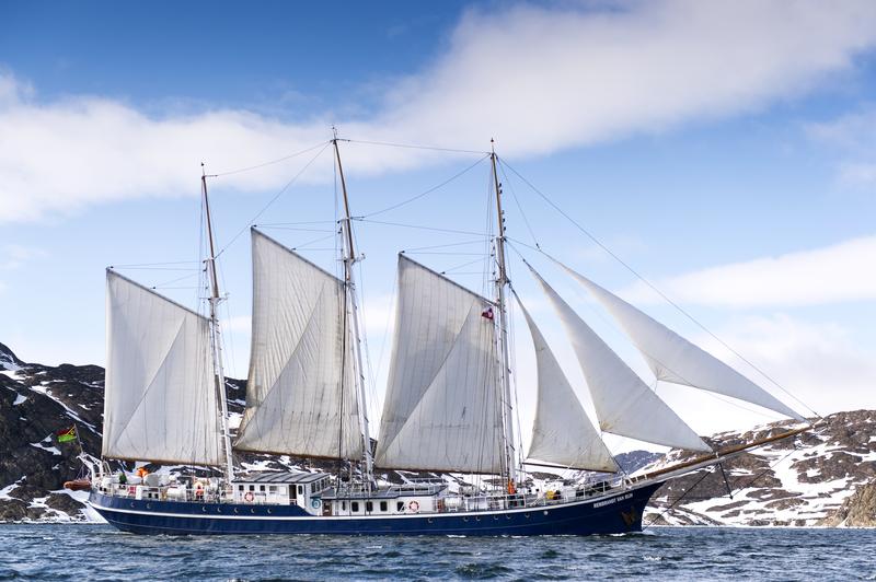 Rembrandt van rijn at sea, Arctic cruise