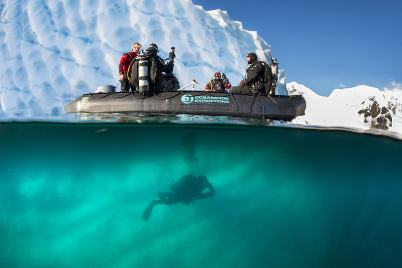Polar scuba diving, Cruise to Antarctica
