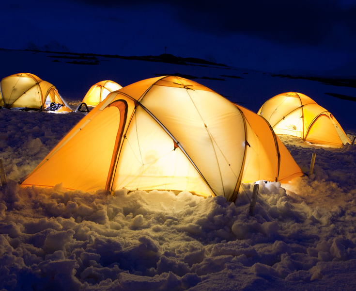 Camping in Antarctica, Cruise to Antarctica