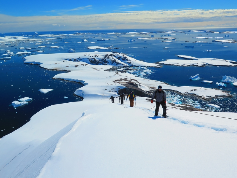 Mountaineering Antarctica Cruise