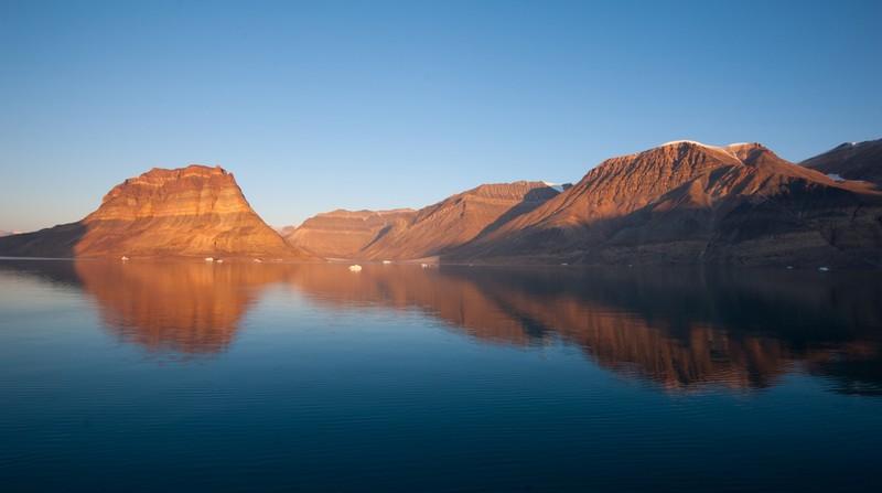 Greenland landscape, Arctic cruise