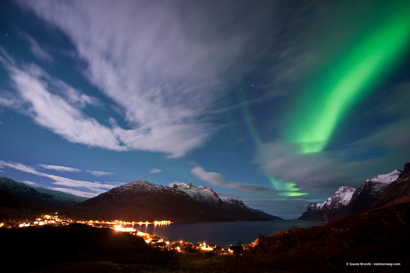 Northern lights, Norway, Arctic cruise