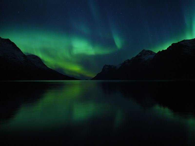 Northern lights Norway, Arctic cruise